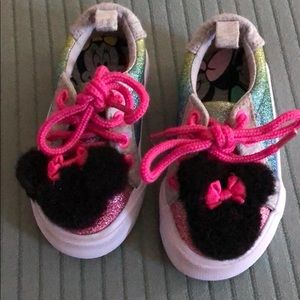 Minnie Mouse tennis shoes